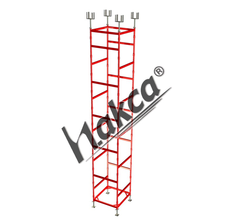 HEAVY  TYPE LOAD-BEARING SCAFFOLDING SYSTEMS and EWUIPMENT