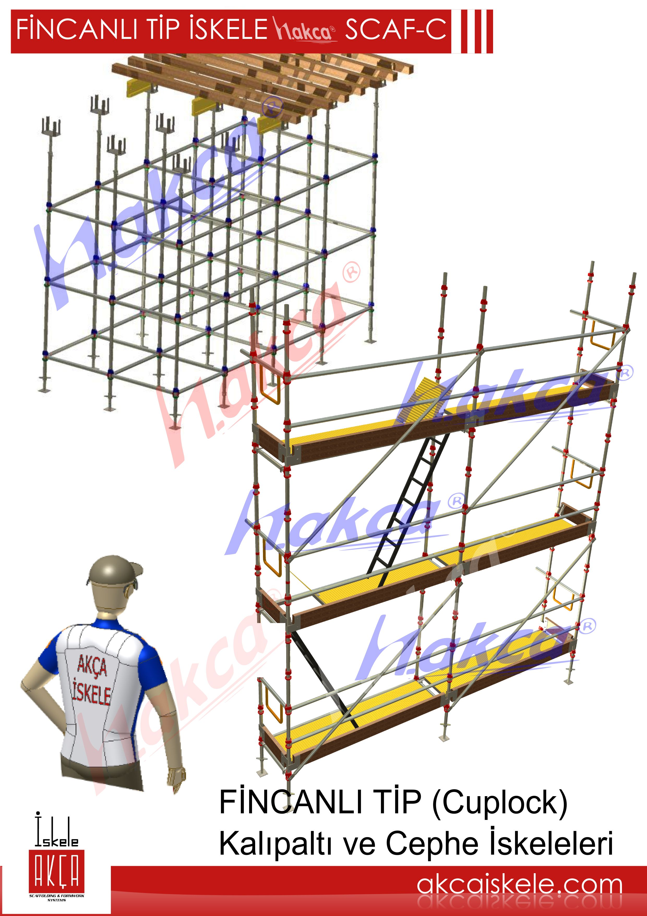 CUPLOCK TYPE SCAFFOLDING SYSTEMS SCAF-C -Cup lock Type Scaffolding